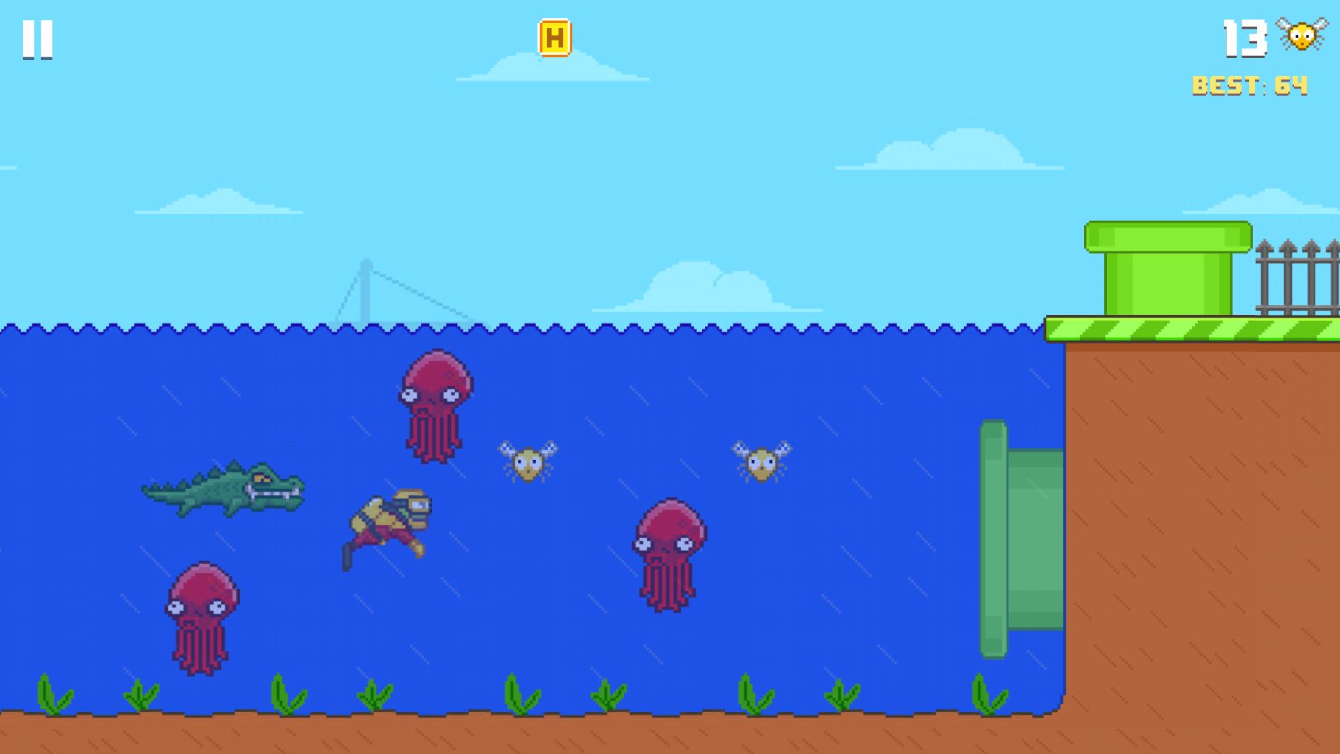 Hoppy Frog 2 - City Escape screenshot 13