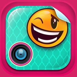 Funny Photo Editor with Emoji Stickers Camera: Add Smiley Face Stamps to Pics for Instant Makeover