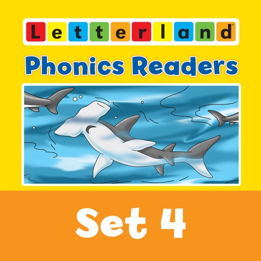 Letterland Phonics Readers Set 4