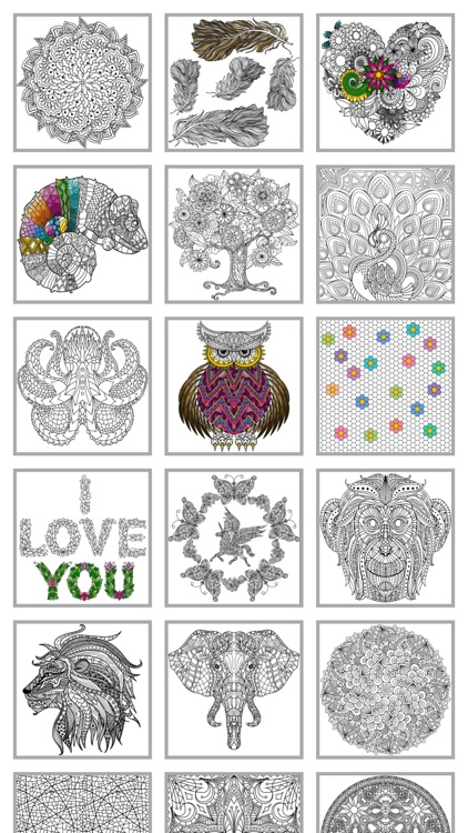 Mindfulness coloring - Anti-stress art therapy for adults (Book 5)