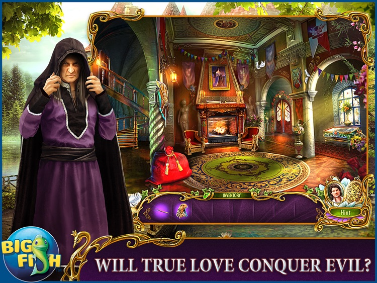 Dark Romance: The Swan Sonata HD - A Mystery Hidden Object Game (Full) screenshot-0