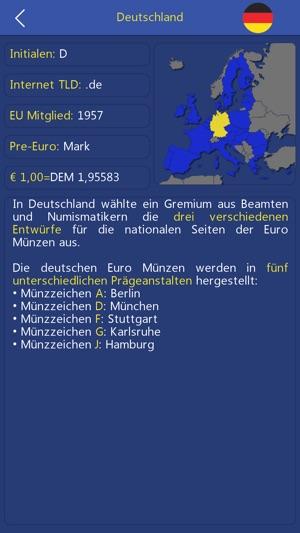 Euro Münzen Sammlung Im App Store