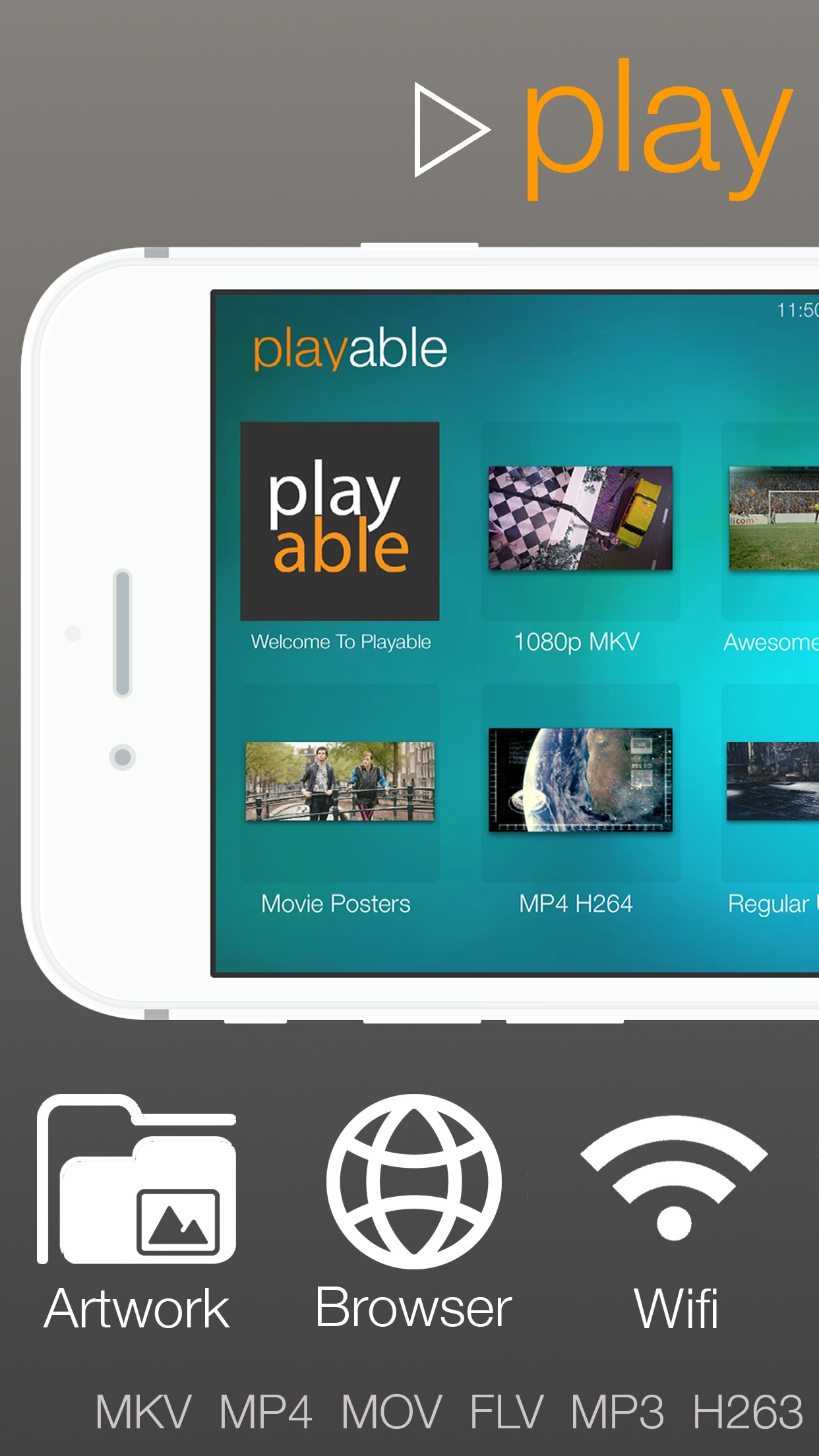 playable PRO - Play almost anything video player Screenshot