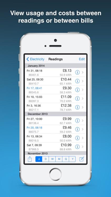 Meter Readings screenshot-3