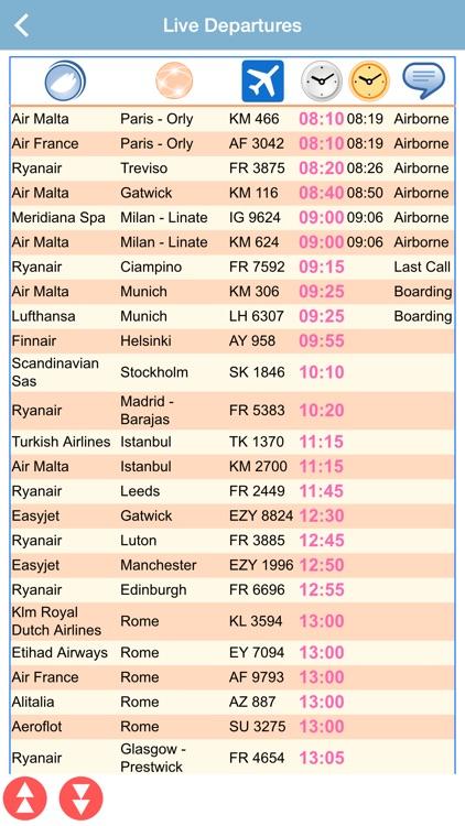 Malta Airport Flight Status Live by ezPass