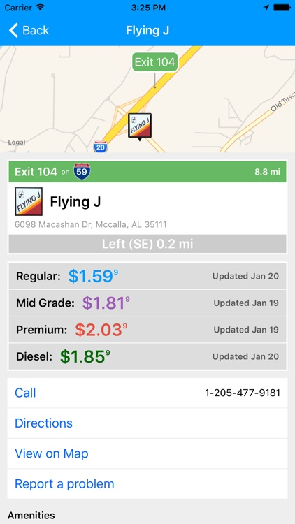 iExit Gas: Cheapest Gas Prices By Interstate Exit screenshot-3