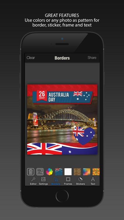 Australia Day Photo Editor : Celebrate 26th January Australian Independence Day