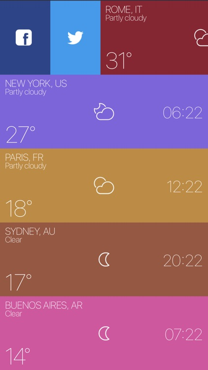 Sunny - Weather and timezone screenshot-3