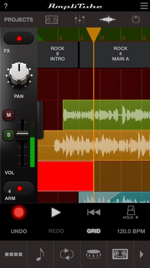 AmpliTube Slash Screenshot