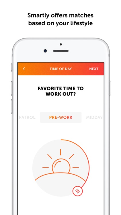 Sweatt - A dating app for the fitness community screenshot-3