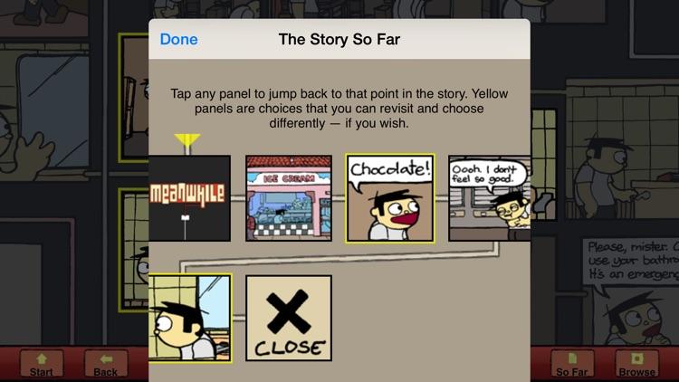 Meanwhile: An Interactive Comic Book screenshot-3