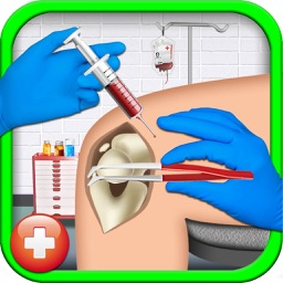 Stunt Racer Surgery Simulator – Virtual hospital care game for little surgeon