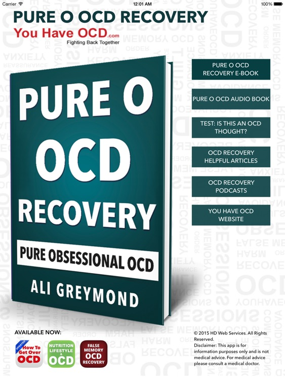 Pure O OCD Recovery HD