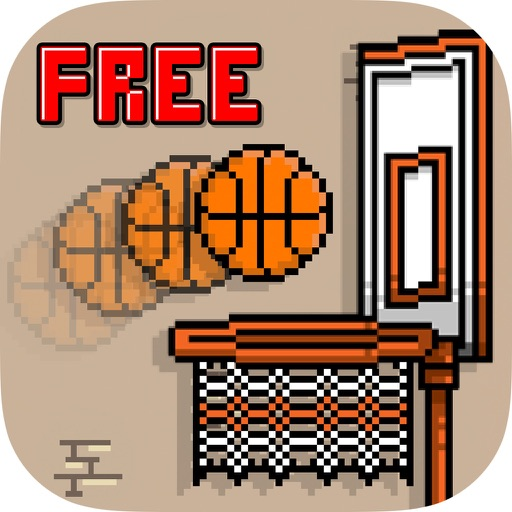 Retro Basketball Free icon
