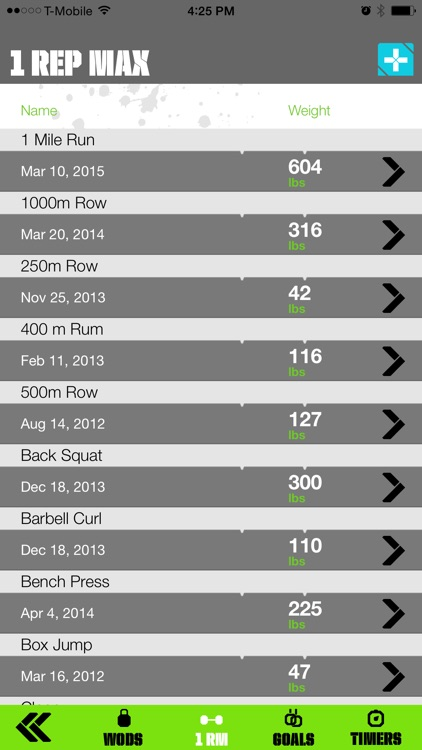 WODzilla - Workout Tracker screenshot-3