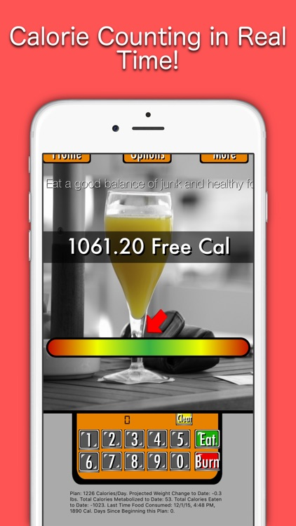 Fat Be Gone ™ - Free Calorie Counter Made Easy!