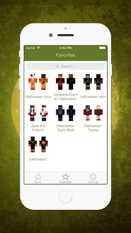 Best 3D Halloween Skins - Ultimate Collection for Minecraft PE & PC screenshot-3