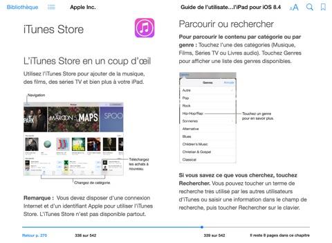 guide de l utilisateur de l ipad pour ios 8 4 de apple inc sur ibooks rh itunes apple com Utilisation Operations Management guide d'utilisation itunes en francais