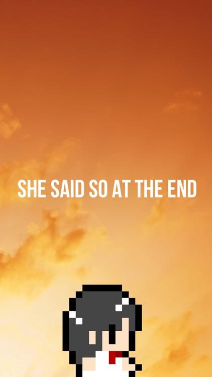 彼女は最後にそう言った