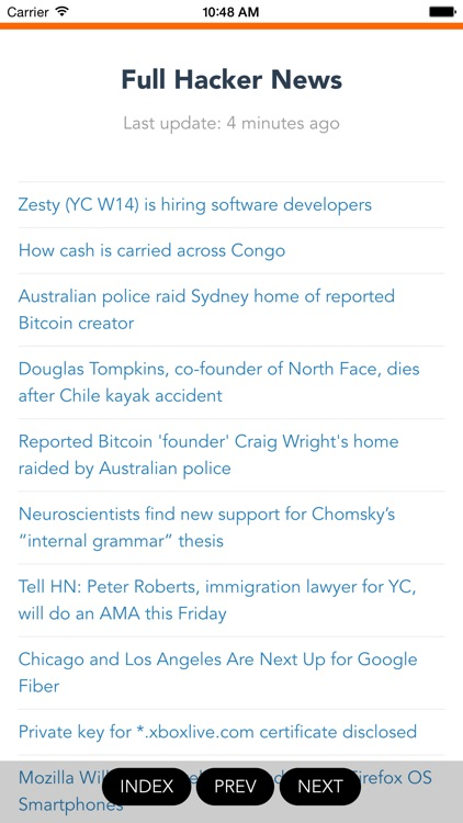 Full Hacker News Reader screenshot-3