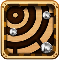 Activities of Labyrinth Maze Retro Style Reloaded - Steel Balls on Gravity defying Roller coaster Ride !