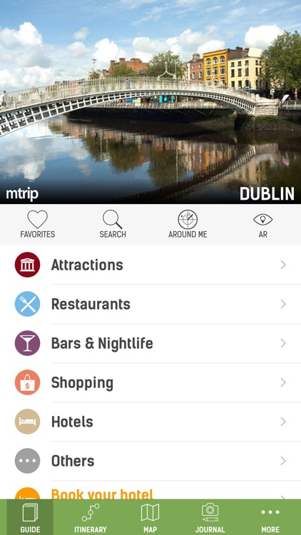 Dublin Travel Guide (with Offline Maps) - mTrip screenshot-0