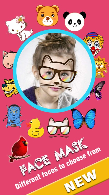 Face Mask Pro - Add Funny FX to your Photos or Videos and Replace your Head to share screenshot-4