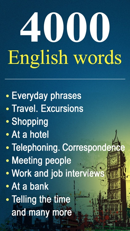 4000 English Words: an English Course for Beginners and More