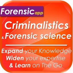 Forensic science & Criminalistics