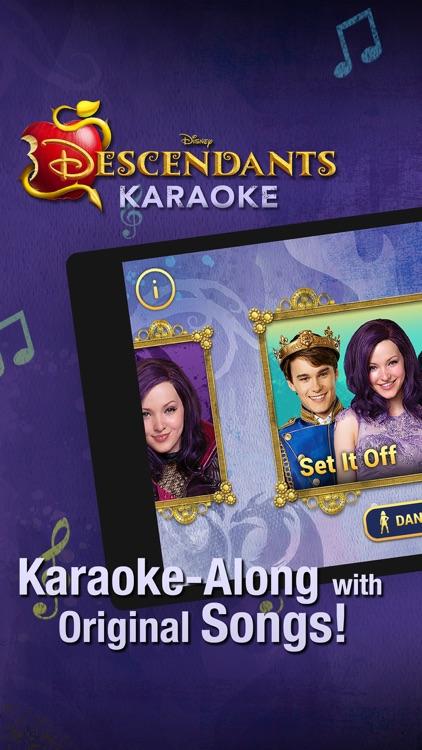 Disney Karaoke: Descendants screenshot-0