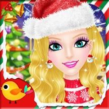 圣诞沙龙2-女孩子们的美容、打扮、化妆、换装游戏