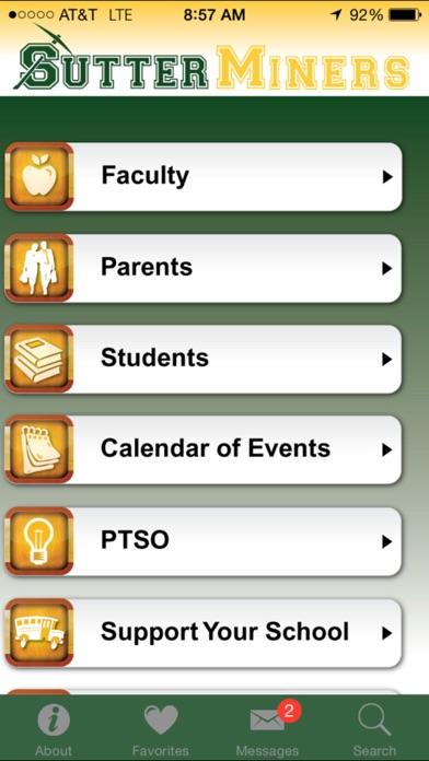 Sutter Middle School Screenshot