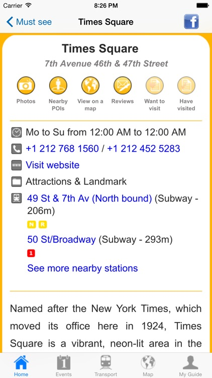New York Travel Guide Offline screenshot-4