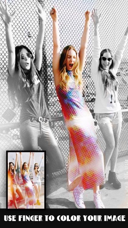 Pic Color Effects Pro - Photo Splash Modifier: Black & White, Selective Grayscale plus Recolor FX screenshot-3