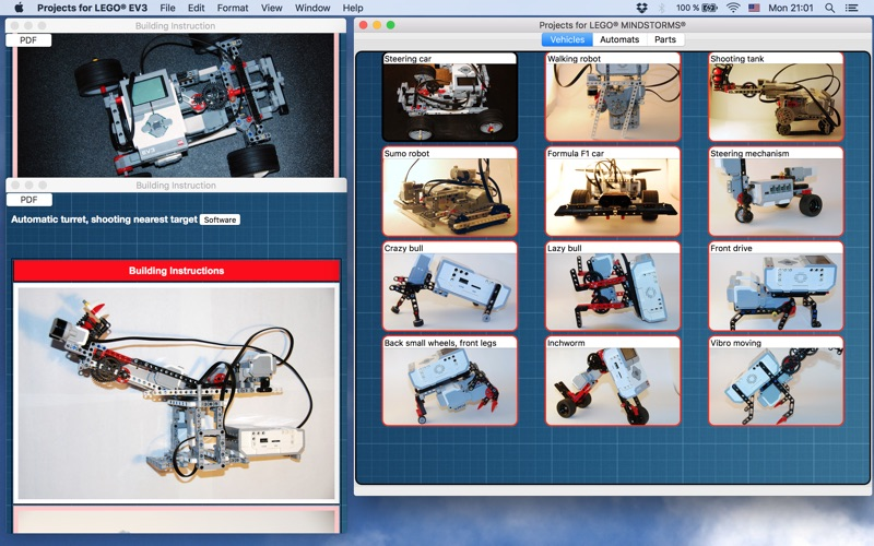 ProjectsBox for LEGO® MINDSTORMS® | App Price Drops