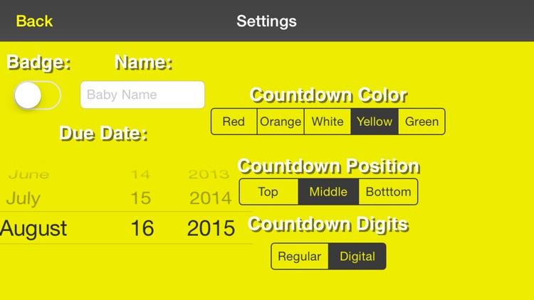 Our Baby Countdown screenshot-3