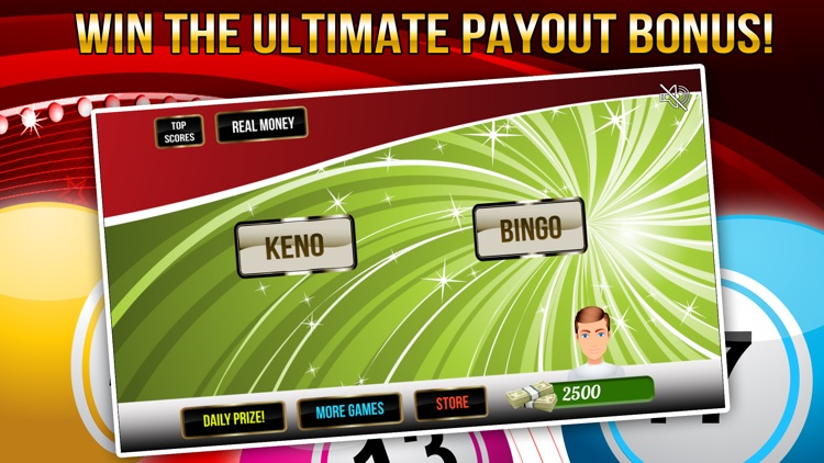 Rich Keno Blitz and Bingo Craze with Big Prize Wheel! by