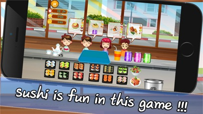 Cooking Chef Bar Sushi Deluxe screenshot three