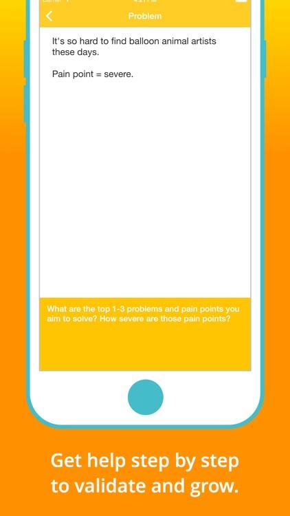 Idealist — Turn your idea into a business screenshot-3