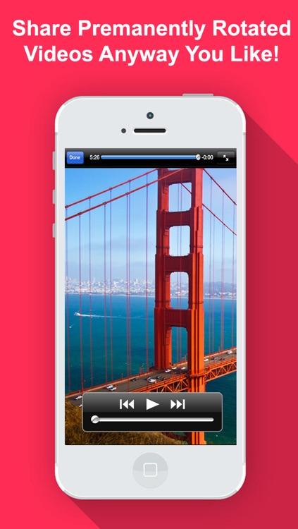 Video Rotate & Flip HD screenshot-4