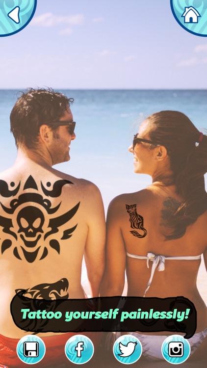 Tattoo Maker Photo Editor and Fake Ink Tattoos screenshot-4