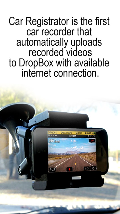 iRegistrator DVR (Car Digital Video Registrar)