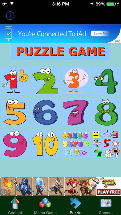 Kids 123 Fun Education Game