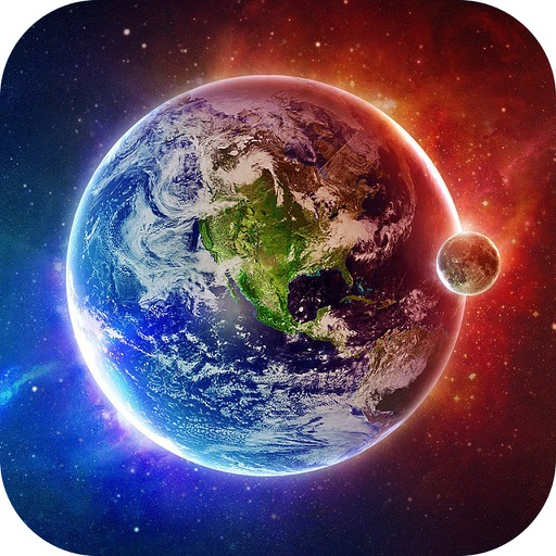 Galaxy Space Wallpapers Backgrounds Pro Custom Home Screen Maker With Hd Pictures Of Astronomy Planet By Chao Zhang