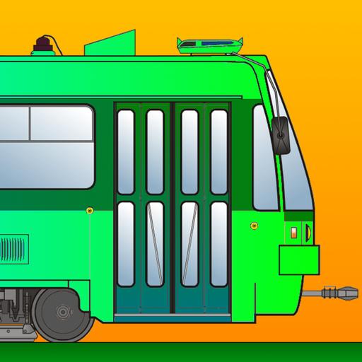 Tram Simulator 2D Premium - City Train Driver - Virtual Rail Driving Game