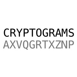 Cryptograms - Word Puzzles for Brain Training