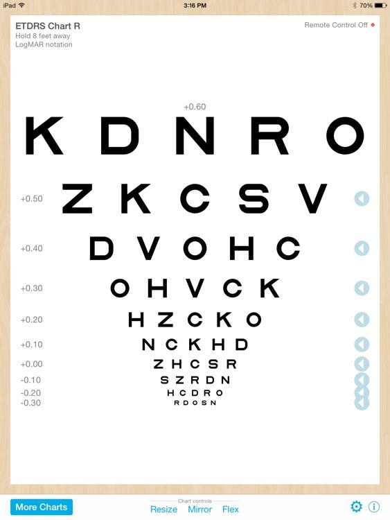 Eye Chart Professional screenshot-3