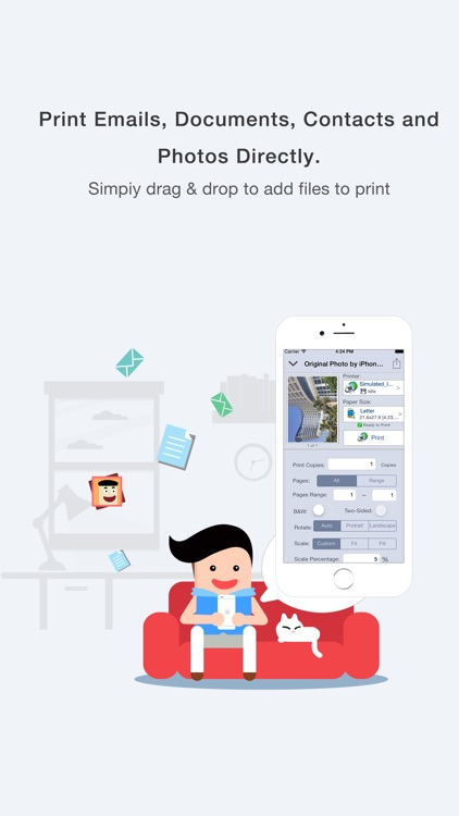 Quick Print via Google Cloud Print for iPhone screenshot-3