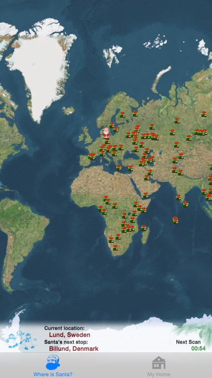 Where is Santa - Santa Tracker screenshot-1