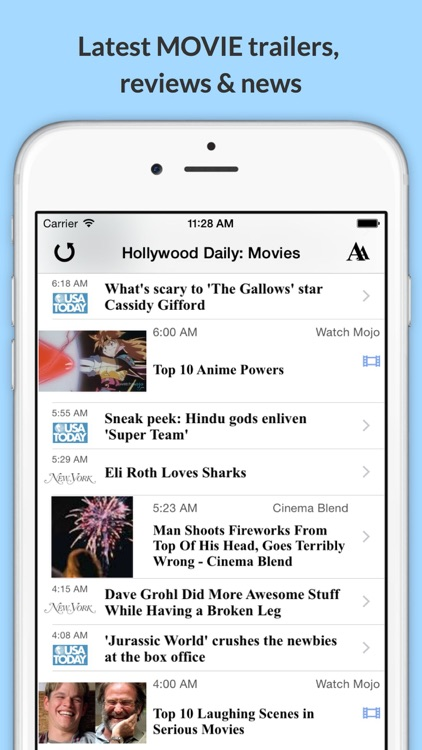 The Daily Planet Celeb!: Get the Latest News, Videos, Photos & More from Hollywood! screenshot-2